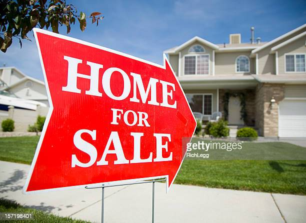 Arrow Shaped Home For Sale Sign