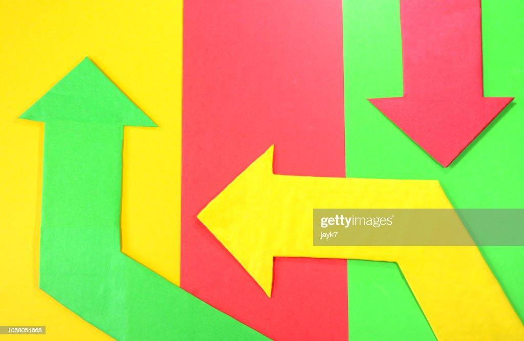 Arrow Signs : Stock Photo