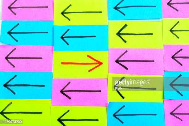 arrow signs - following arrows stock pictures, royalty-free photos & images