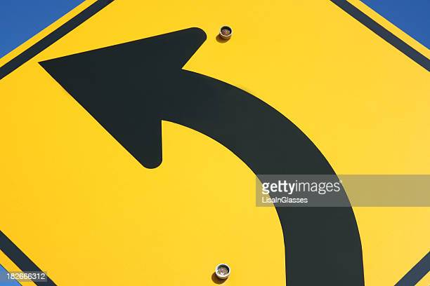 Pfeil-Symbol: Straßenschild