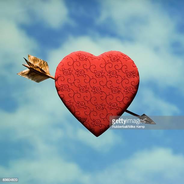 arrow through a heart