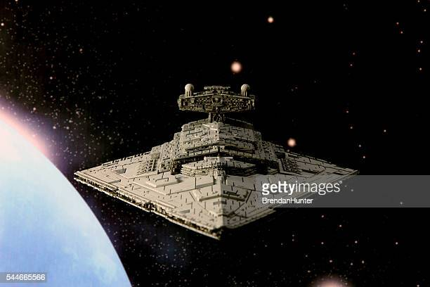 arrowhead - spaceship stock photos and pictures
