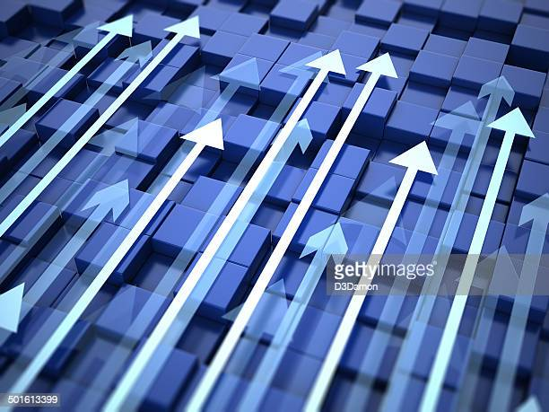 arrows background - arrow stock photos and pictures