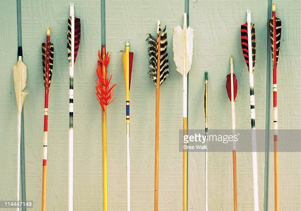 arrows - archery stock pictures, royalty-free photos & images