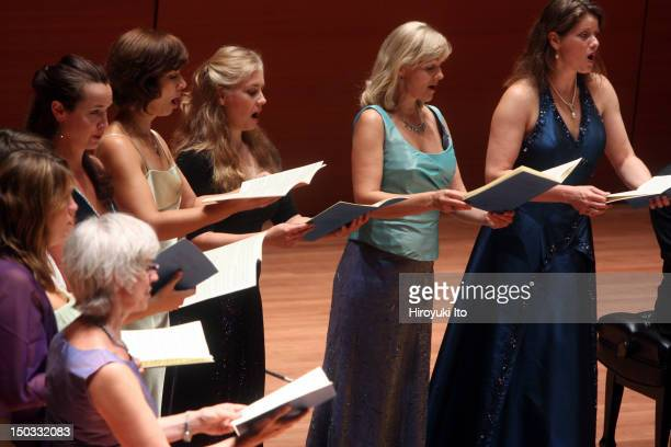 """Ars Nova Copenhagen in Bach's """"Jesu, meine Freude"""" at Alice Tully Hall on Friday night, August 13, 2010.The concert is entitled """"Bach and..."""