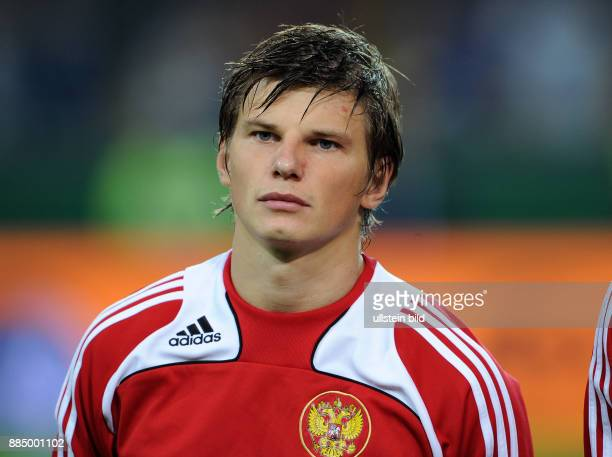 Arschawin Andrej Fussball Mittelfeldspieler Nationalmannschaft Russland