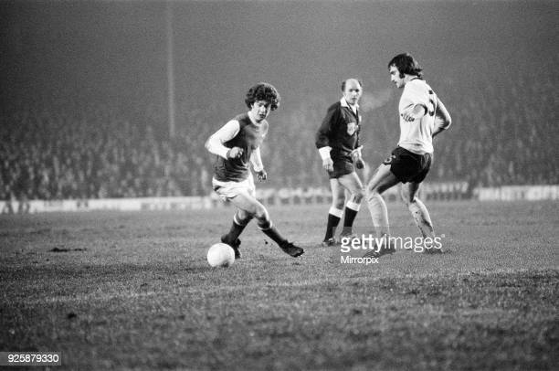 Arsenal 3-0 Coventry City, FA Cup Replay match at Highbury, Wednesday 29th January 1975.