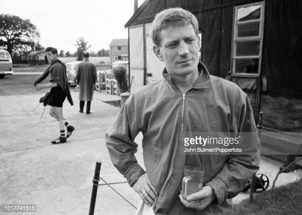 Arsenal assistant coach Les Shannon after a training session at London Colney, in England, on 21st August 1962.