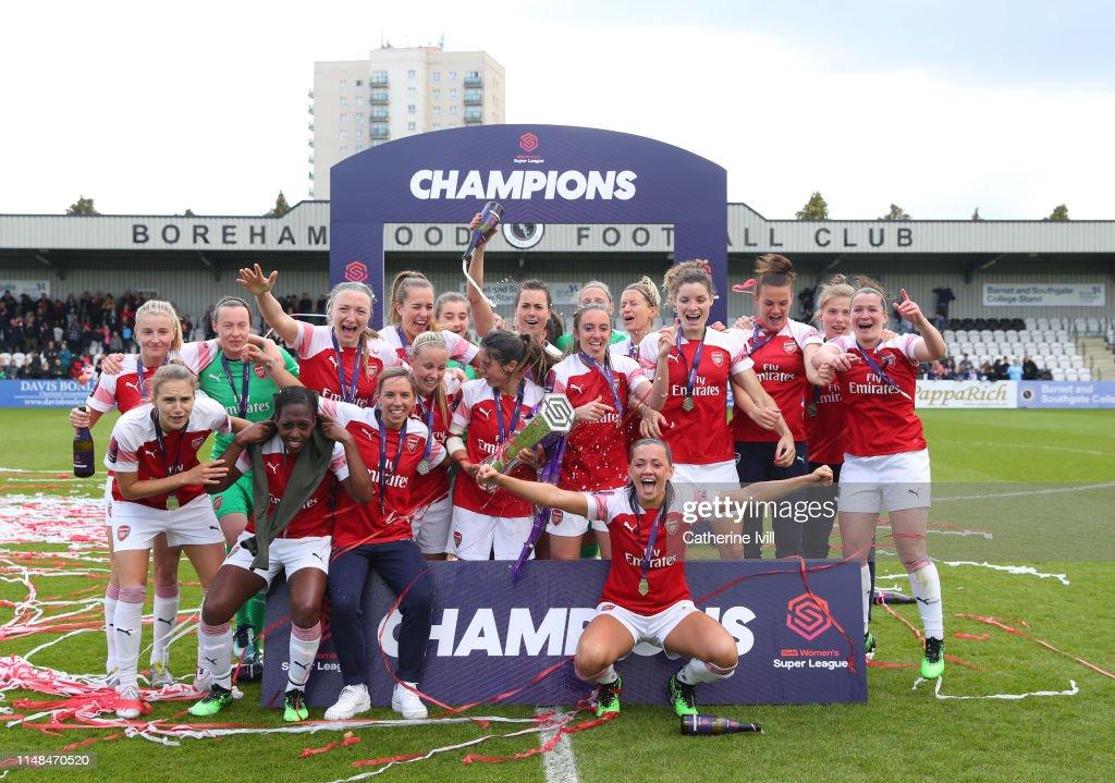 Arsenal Women v Manchester City Women: WSL : Nachrichtenfoto