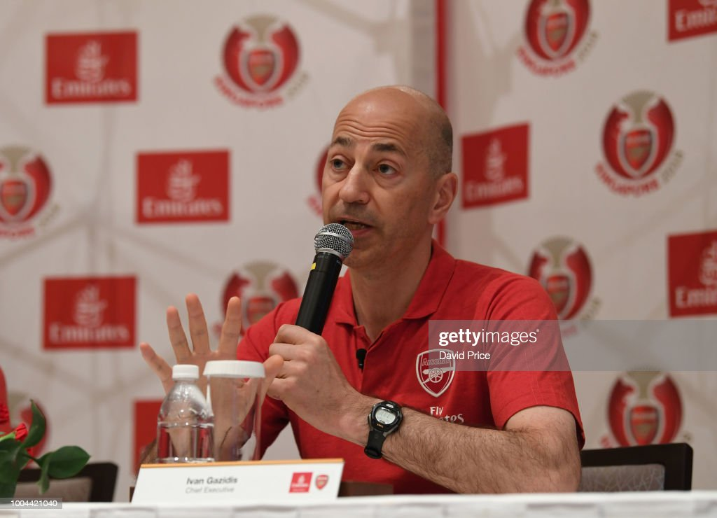 Arsenal Pre-Season Tour : News Photo