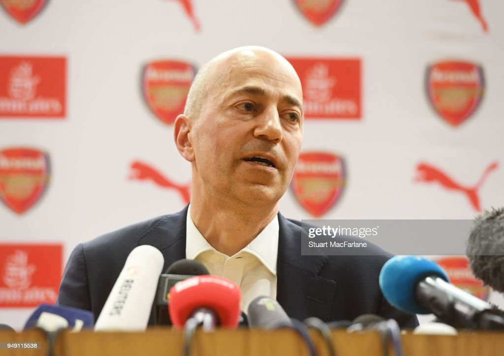 Arsenal Chief Executive Ivan Gazidis Press Conference
