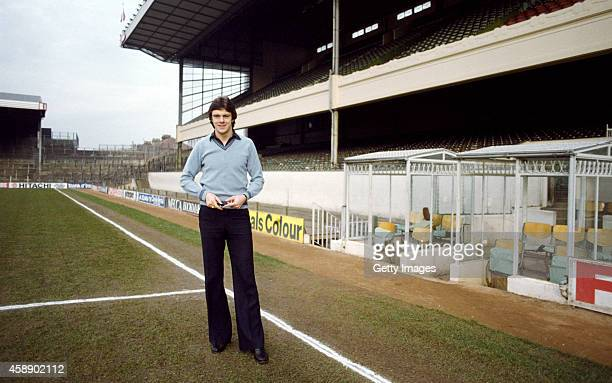 Arsenal defender David O' Leary pictured at Highbury circa 1978 O' Leary went on to play over 500 games for the club