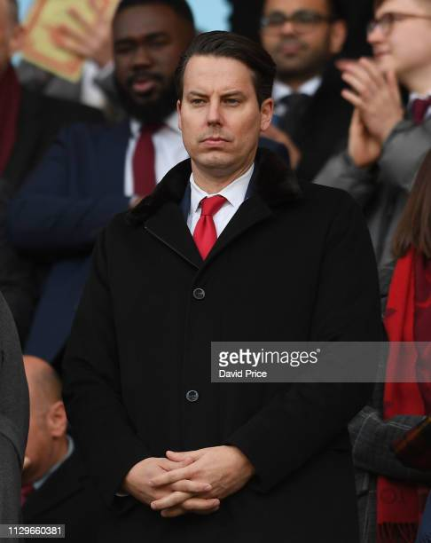 Arsenal Director Josh Kroenke before the Premier League match between Arsenal FC and Manchester United at Emirates Stadium on March 10 2019 in London...