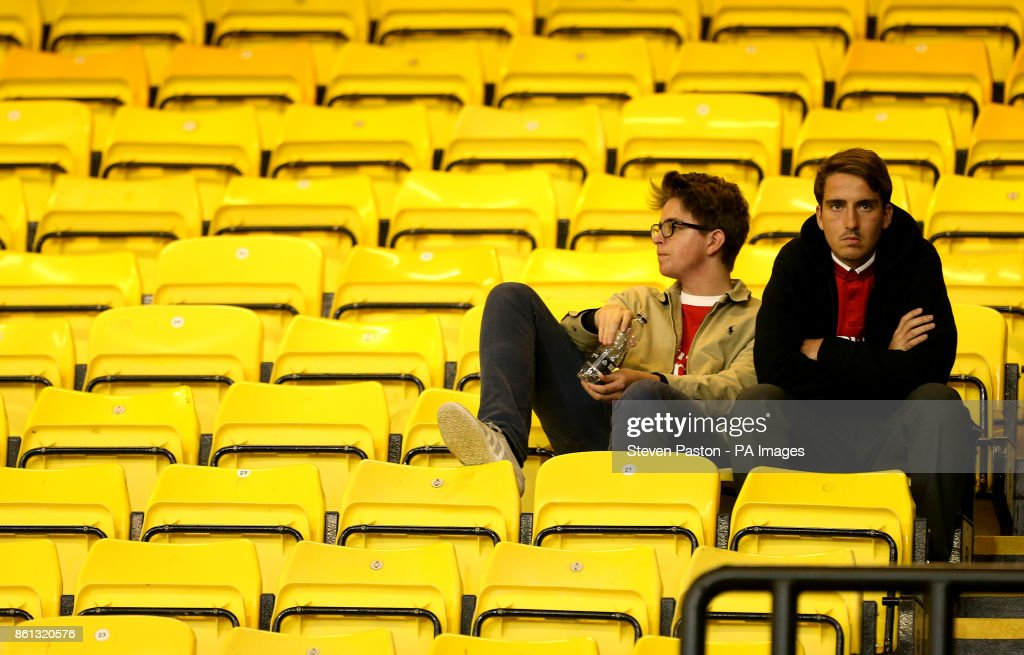 Watford v Arsenal - Premier League - Vicarage Road : News Photo