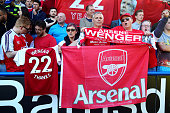 huddersfield england arsenal fans display an