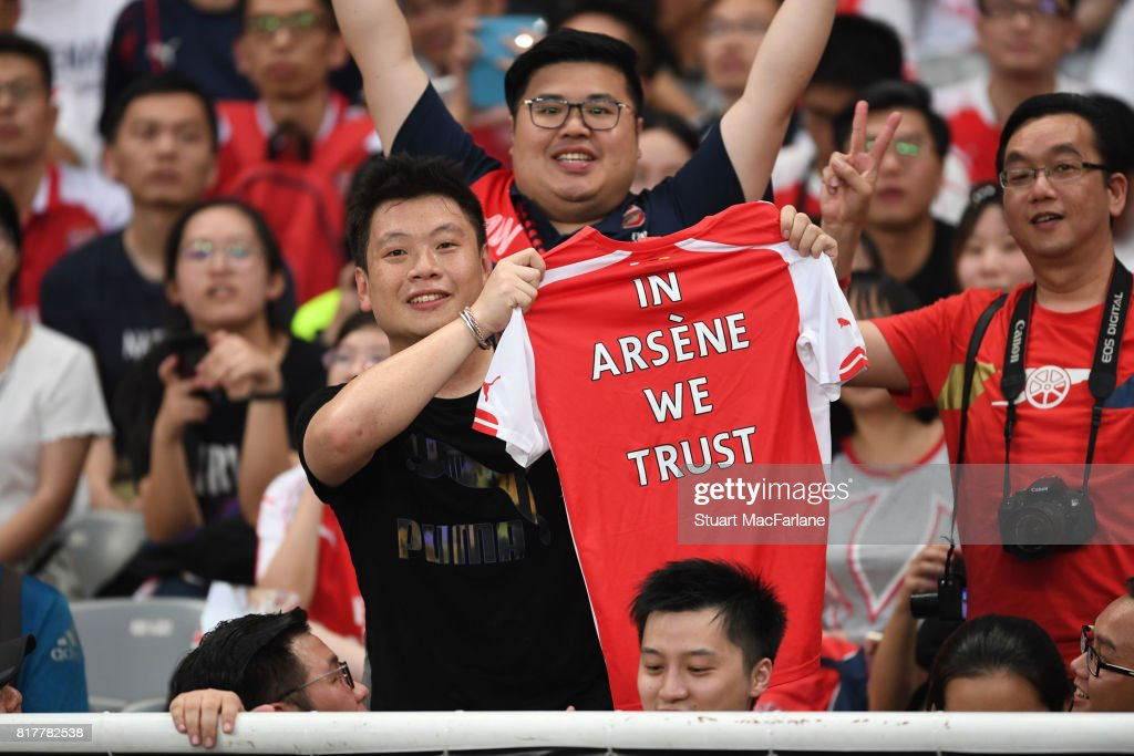 Arsenal Pre-Season Tour : ニュース写真