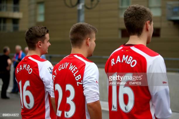 a6c9ab3a2 Soccer - Barclays Premier League - Arsenal v Tottenham Hotspur - Emirates  Stadium Pictures