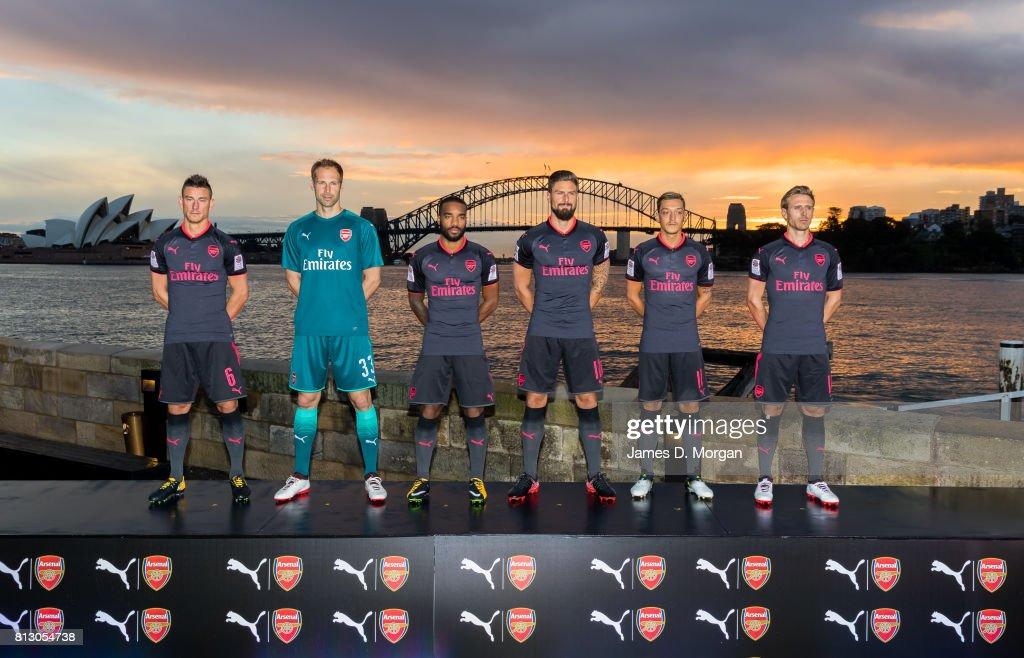 Arsenal Unveil New 2017/18 Third Kit : News Photo