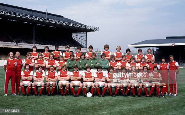 Arsenal Football Club pictured at Highbury in London August 1978