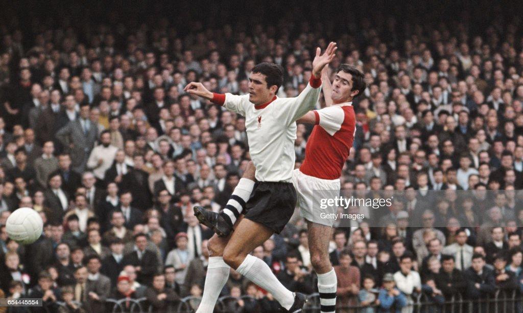 Arsenal v Liverpool First Divsion 1968 : News Photo