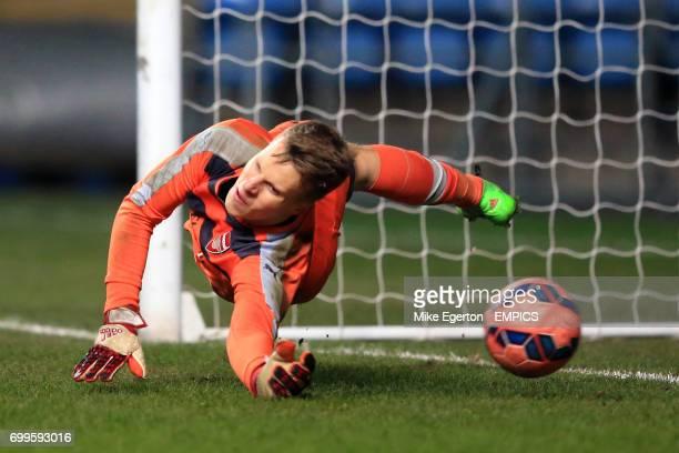 Arsenal goalkeeper Hugo Keto