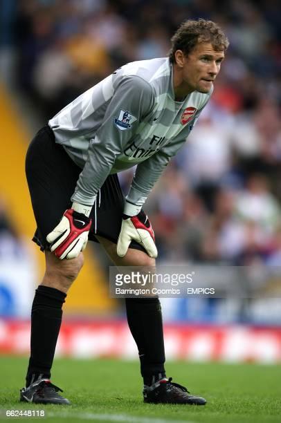 Arsenal goalkeeper Jens Lehmann