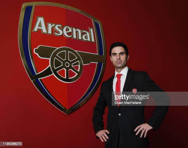 Arsenal Head Coach Mikel Arteta at Emirates Stadium on December 20 2019 in London England