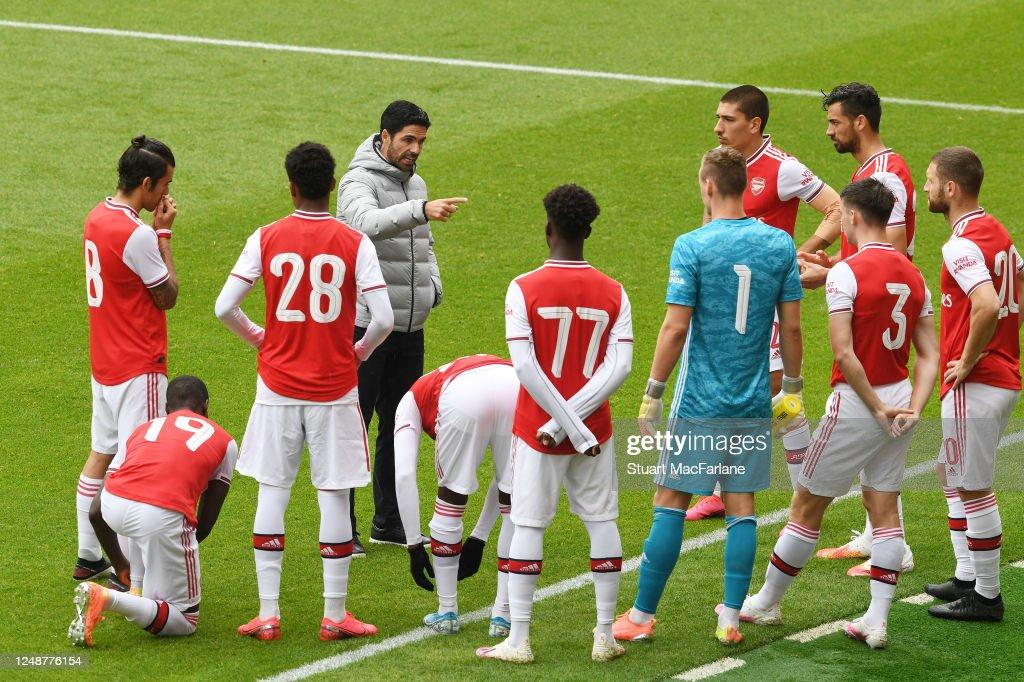 Arsenal v Brentford: Friendly : ニュース写真