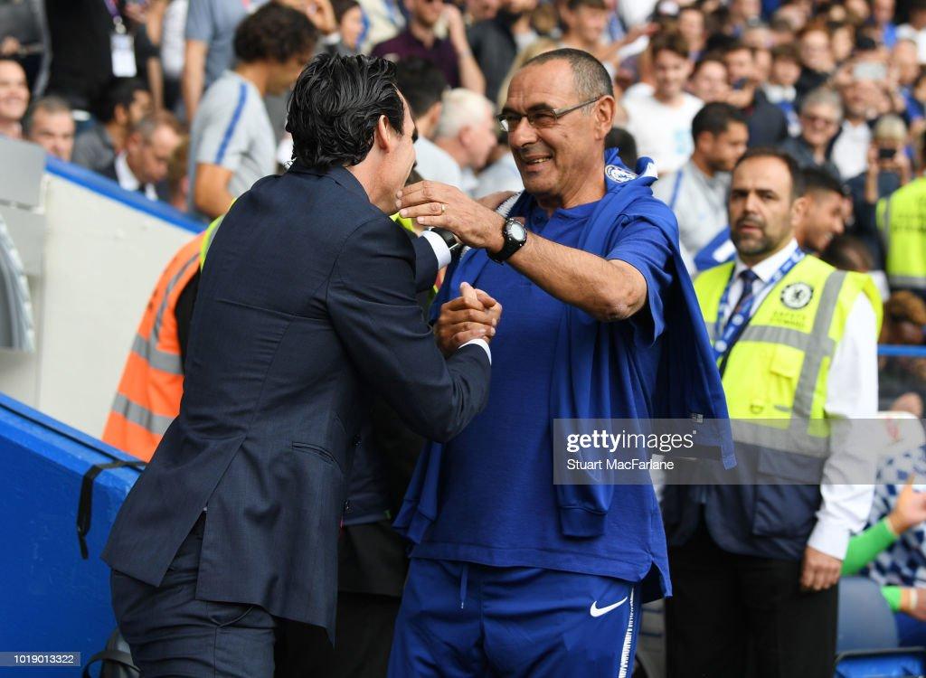 Chelsea v Arsenal - Premier League : ニュース写真