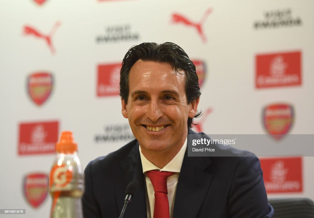Arsenal Unveil New Head Coach Unai Emery : News Photo