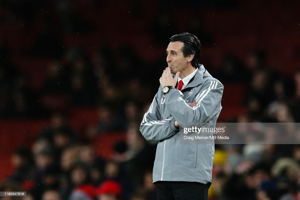 Arsenal FC v Eintracht Frankfurt: Group F - UEFA Europa League : News Photo