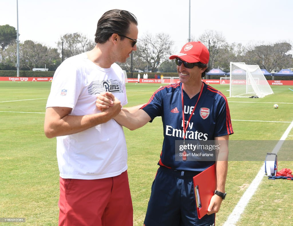 Arsenal Pre-Season Tour of the United States : News Photo