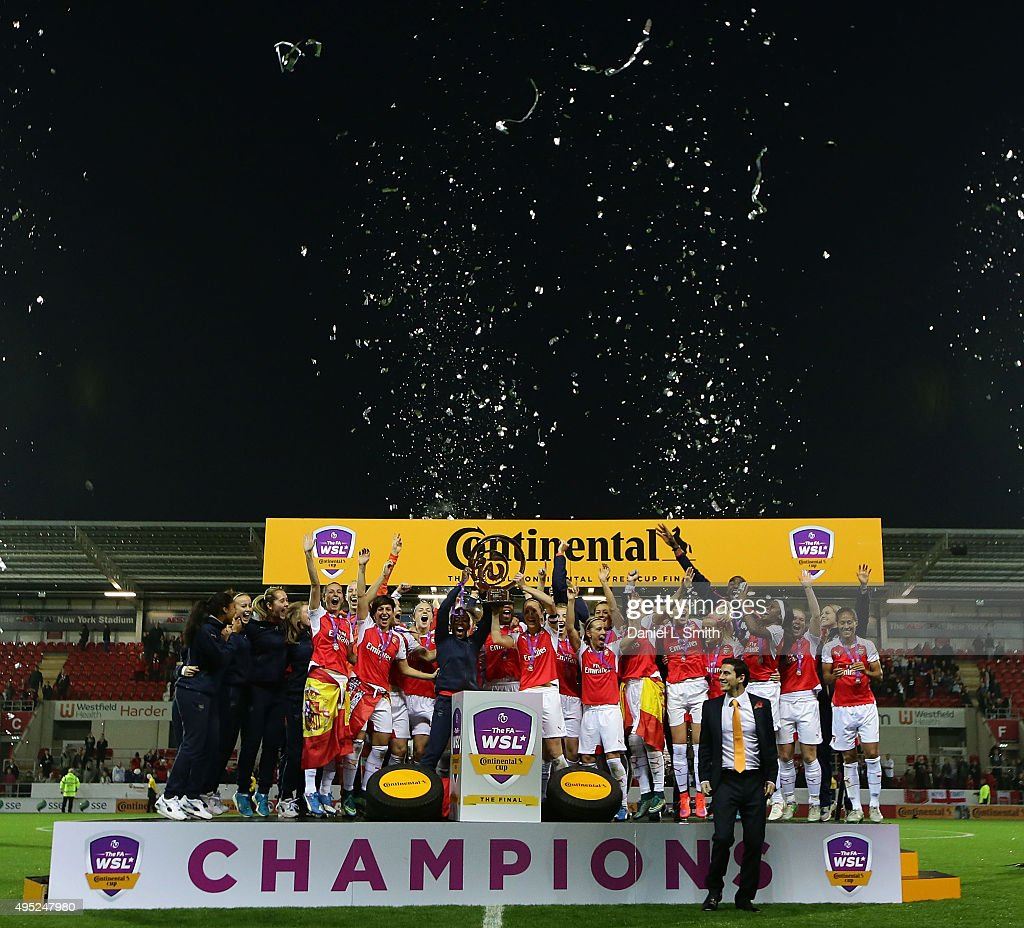 Arsenal Ladies FC v Notts County Ladies: WSL Continental Cup Final : News Photo