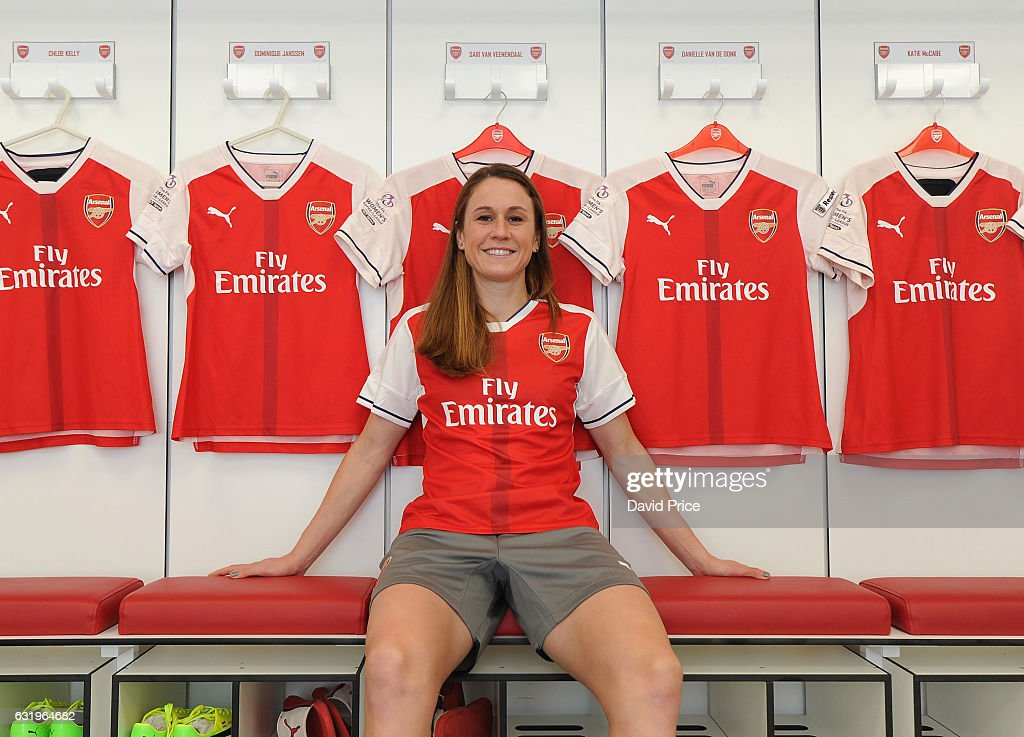Arsenal Ladies Unveil New Signing Heather O'Reilly : News Photo