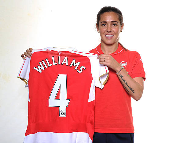 Arsenal Ladies Unveil New Signing Fara Williams Photos and ...