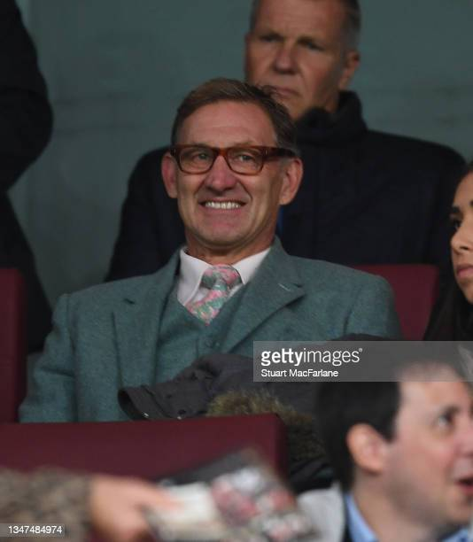 Arsenal Legend Tony Adams before the Premier League match between Arsenal and Crystal Palace at Emirates Stadium on October 18, 2021 in London,...