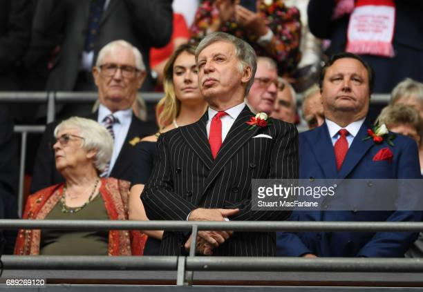 Arsenal majority shareholder Stan Kroenke before the Emirates FA Cup Final between Arsenal and Chelsea at Wembley Stadium on May 27 2017 in London...
