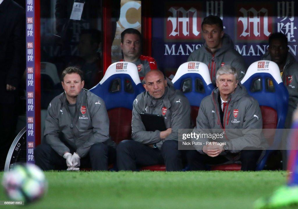 Crystal Palace v Arsenal - Premier League - Selhurst Park : News Photo