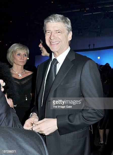 Arsenal manager Arsene Wenger attends the IWC Schaffhausen Top Gun Gala Event during the 22nd SIHH High Jewellery Fair at the Palexpo Exhibition Hall...