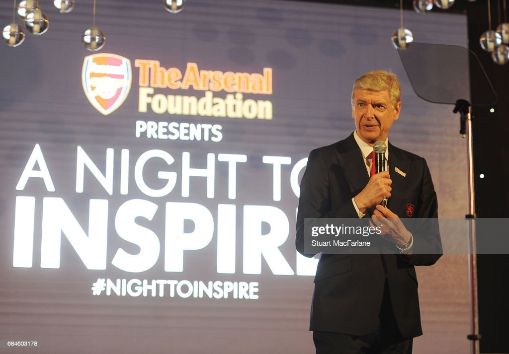 'A Night To Inspire' The Arsenal Foundation Charity Ball : News Photo