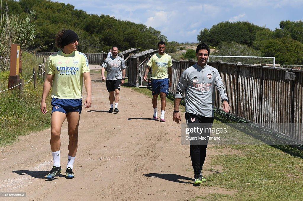 Arsenal Training Session : Foto di attualità