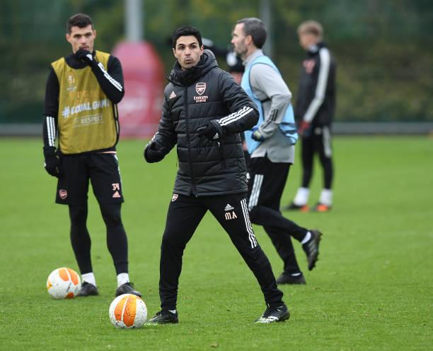 GBR: Arsenal FC - Training Session
