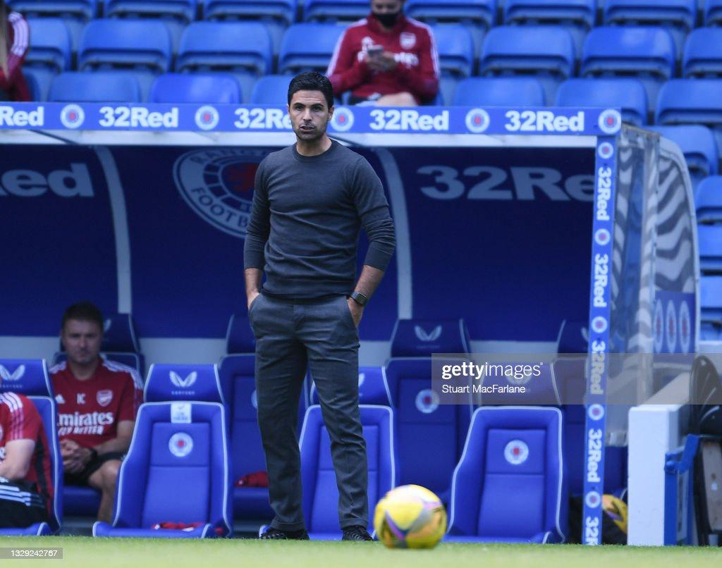 Rangers v Arsenal: Pre-Season Friendly : News Photo