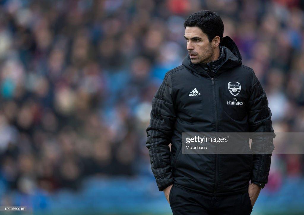 Burnley FC v Arsenal FC - Premier League : News Photo