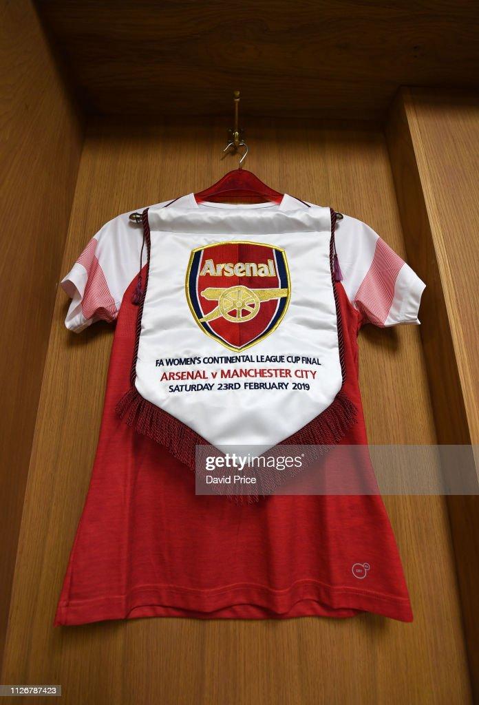 GBR: Arsenal v Manchester City Women - FA Women's Continental League Cup Final