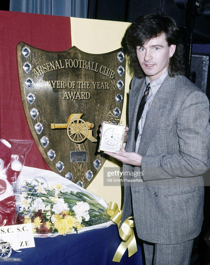 Charlie Nicholas  -  Arsenal Player Of The Year : News Photo