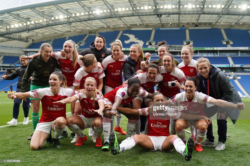 Brighton and Hove Albion Women v Arsenal Women - FA WSL : News Photo
