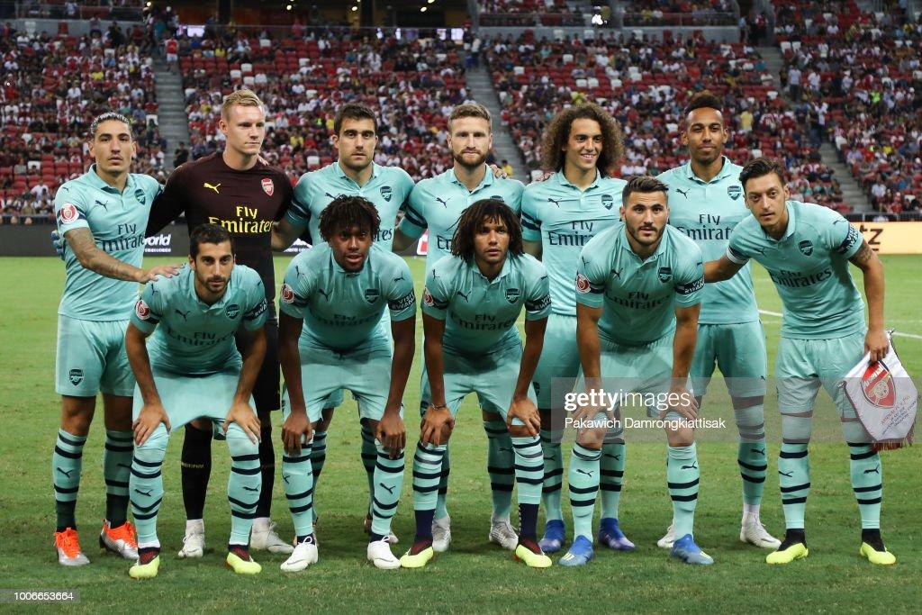 Arsenal v Paris Saint Germain - International Champions Cup 2018 : ニュース写真