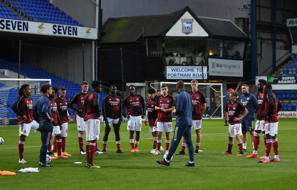 GBR: Ipswich Town v Arsenal U21: Leasing.com Cup