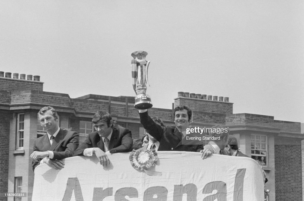 Arsenal wins the Inter-Cities Fairs Cup : News Photo